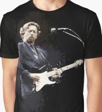Digital painting of legend Eric Clapton Graphic T-Shirt
