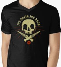 Jus drein jus daun Men's V-Neck T-Shirt