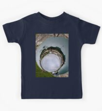Hurry Head Harbour, Carnlough, County Antrim - Sky In Kids Tee