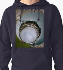 Hurry Head Harbour, Carnlough, County Antrim - Sky In Pullover Hoodie