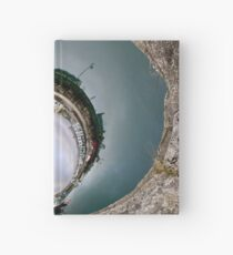 Hurry Head Harbour, Carnlough, County Antrim - Sky In Hardcover Journal