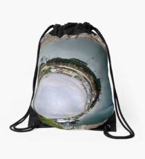 Hurry Head Harbour, Carnlough, County Antrim - Sky In Drawstring Bag