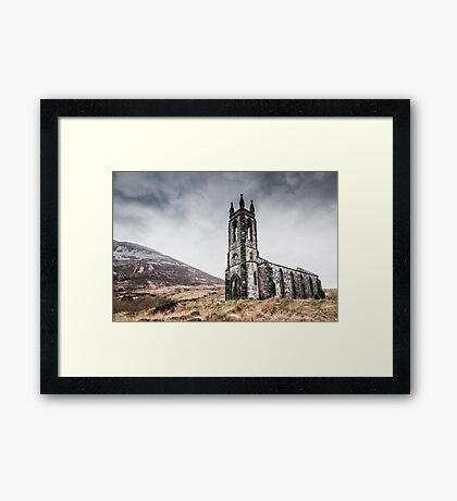 Dunlewey Church Framed Print