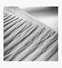 Desert waves #10 Photographic Print
