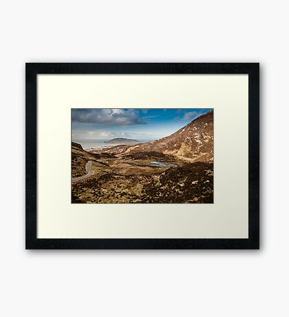 Mamore Gap Co. Donegal Framed Print