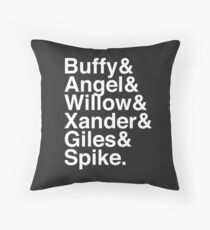 The Scooby Gang Classic White Throw Pillow