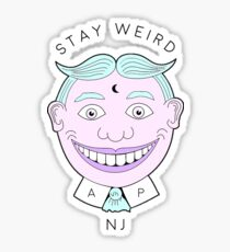 Stay Weird, NJ.  Sticker