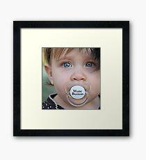 Binky Framed Print