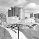 Downtown Columbus by Bill Wetmore