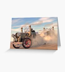 The great autombile race Greeting Card