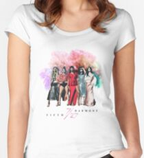 Fifth Harmony ~ 7/27 (Nature) Women's Fitted Scoop T-Shirt