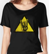 Heavy metal warning Women's Relaxed Fit T-Shirt