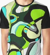 Retro Green Graphic T-Shirt