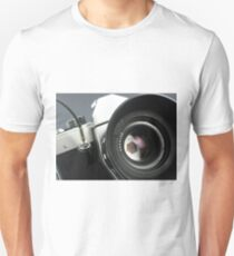 Camera in action. T-Shirt