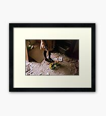 alone again, naturally Framed Print