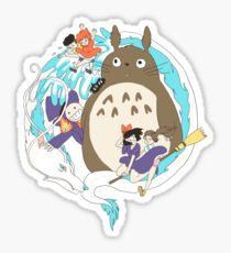 Miyazaki Madness Sticker