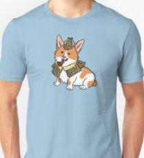 Sherlock Corgi  Unisex T-Shirt