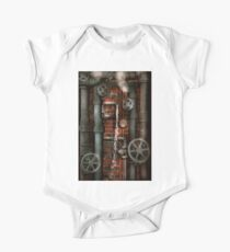 Steampunk - Plumbing - Pipes and Valves One Piece - Short Sleeve