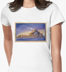 """""""IN FOR THE NIGHT"""" Women's Fitted T-Shirt"""