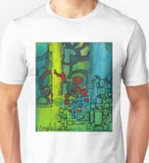 The Number Code (Three Part Abstract Series) Unisex T-Shirt