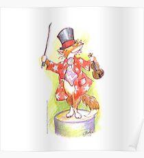 Fantastic Mr Foxy on the violin Poster