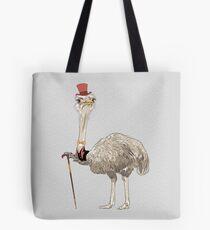 Ostrich Bird hipster  Tote Bag