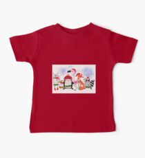Silly Cartoon Animals Christmas Holiday Kids Clothes