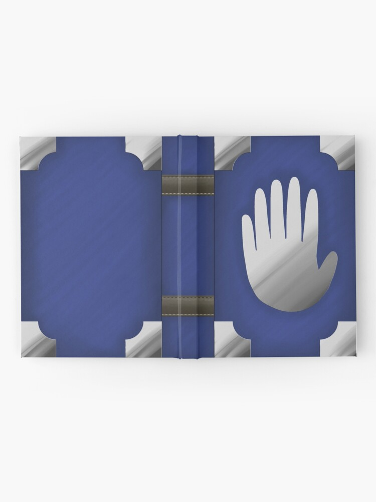 Alternate view of Gravity Falls Inspired Handprint Journal, BLUE Hardcover Journal