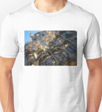 Jewel Toned Masterpiece - Antoni Gaudi Casa Batllo in Barcelona, Spain Unisex T-Shirt