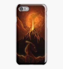 Dragon Born, Volcano Dragon iPhone Case/Skin