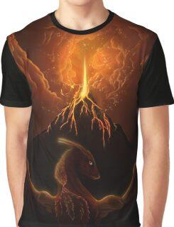 Dragon Born, Volcano Dragon Graphic T-Shirt