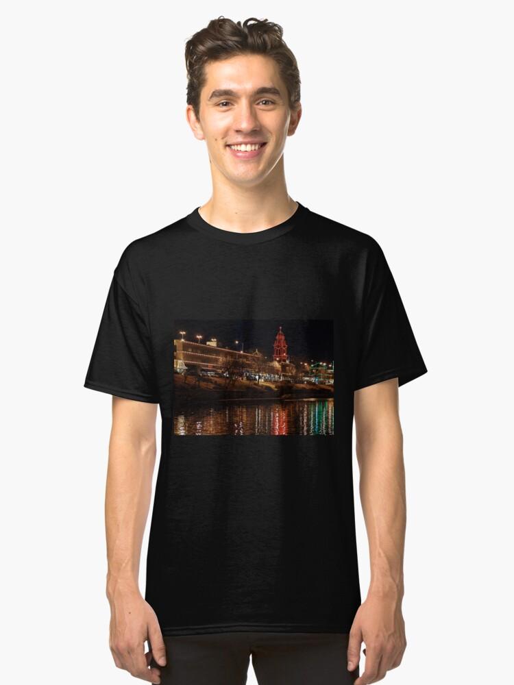 Plaza Lights Classic T-Shirt Front