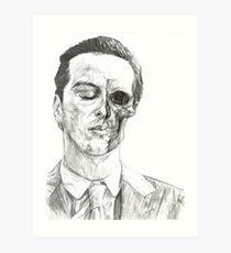 His Death Wish Art Print