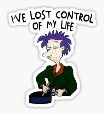 Ich habe die Kontrolle über mein Leben verloren - Rugrats Sticker