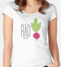 You're Rad!- Radish  Women's Fitted Scoop T-Shirt