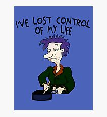 I've Lost Control Of My Life - Rugrats Photographic Print