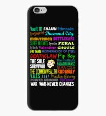 Wasteland Words... iPhone Case