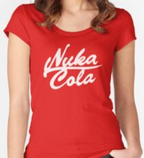 Nuka Cola - Original! Women's Fitted Scoop T-Shirt