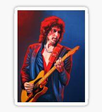 Bob Dylan Painting Sticker