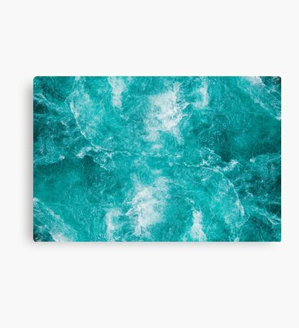 Churning Waters Canvas Print