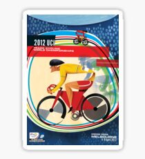 Track Cycling World Championships Poster Sticker