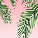 Palme Blätter von N C