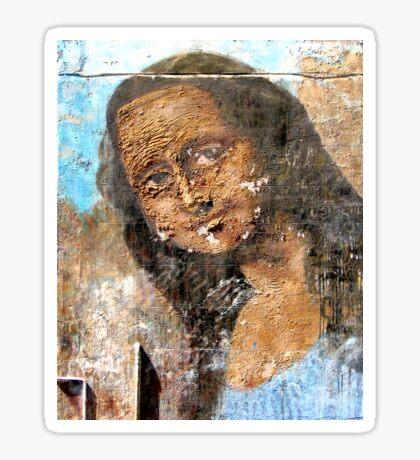 Urban Mona Lisa Sticker
