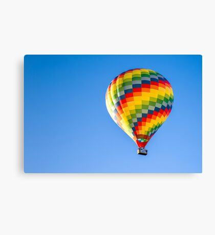 Floating into a Brand New Day Canvas Print