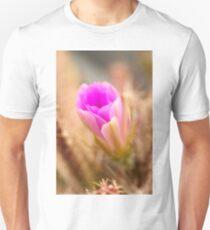 Lady Finger Cactus Bloom Unisex T-Shirt