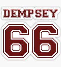 Patrick Dempsey '66 Sticker