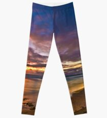 Sunset at Cottesloe 2 Leggings