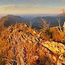 Sugarloaf Peak, Cathedral Range, Victoria, Australia by Michael Boniwell