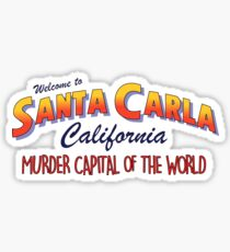 The Lost Boys - Welcome To Santa Carla Sticker