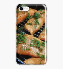 Cuts of Salmon iPhone Case/Skin